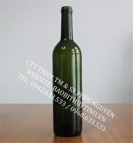 chai thuy tinh
