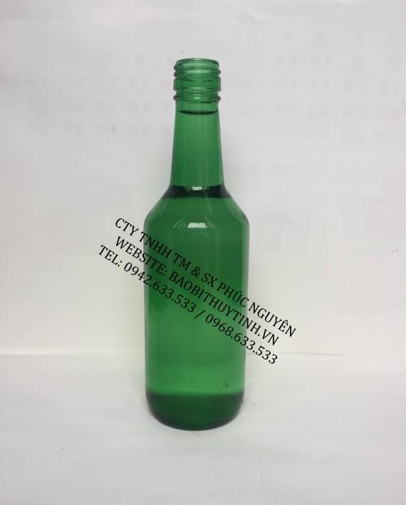 vỏ chai thủy tinh